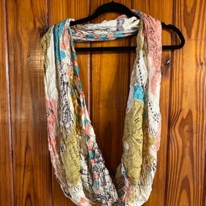 Urban Outfitters map scarf